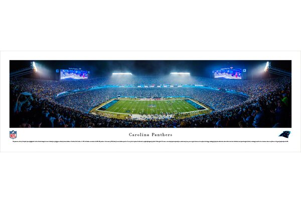 NFL Carolina Panthers by Christopher Gjevre Photographic Print by Blakeway Worldwide Panoramas, Inc