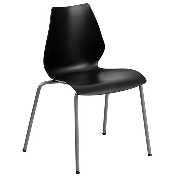 Cresswell Armless Stacking Chair by Ivy Bronx