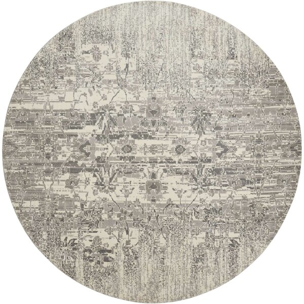 Arabelle Abstract Ivory Area Rug by Bungalow Rose