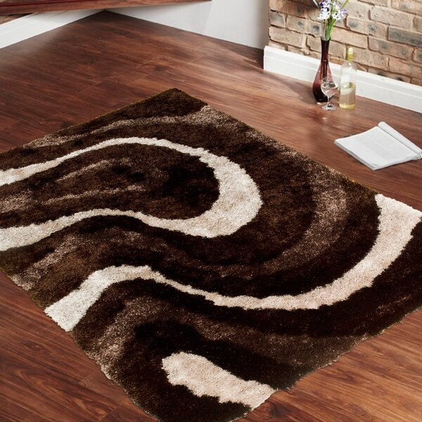 Hand-Tufted Brown Area Rug By Allstar Rugs.