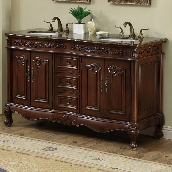 Gilliam 60 Double Bathroom Vanity Set by Astoria Grand