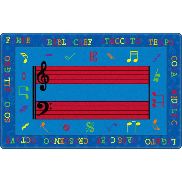 Fun with Music Kids Rug by Flagship Carpets