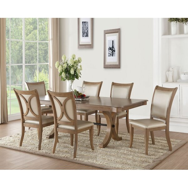 Taniya 7 Pieces Extendable Dining Set by Ophelia & Co. Ophelia & Co.