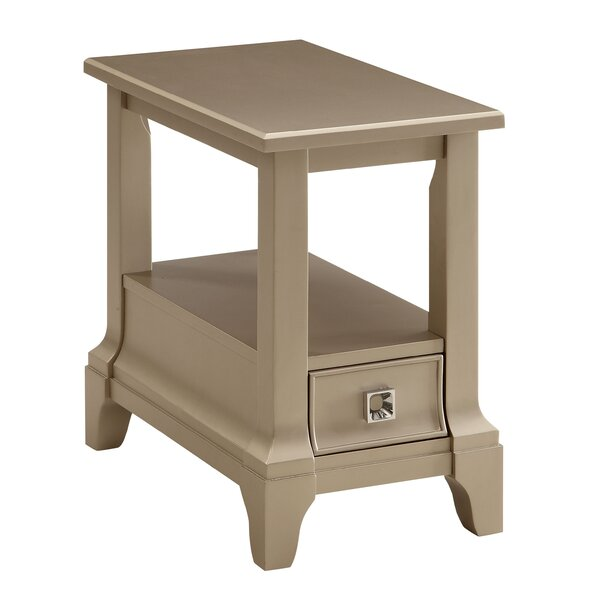 Mcelfresh End Table with Storage by House of Hampton House of Hampton