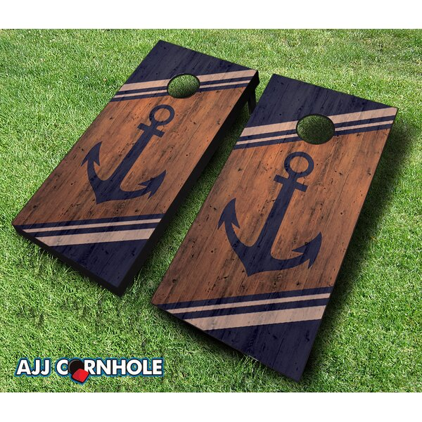 Anchor Cornhole Set by AJJ Cornhole