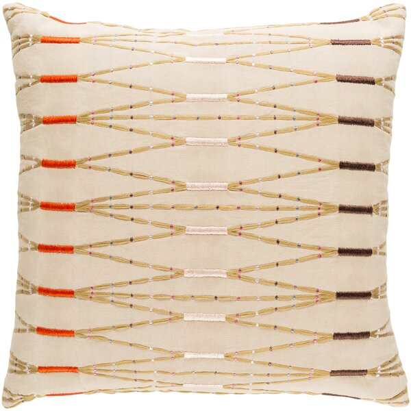 Kadin Cotton Throw Pillow by Mistana