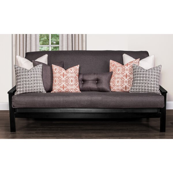 Applecrest Box Cushion Futon Slipcover by Alcott Hill