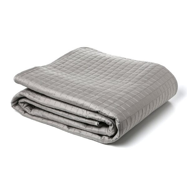 Urban Egyptian Quilted Reversible  Coverlet