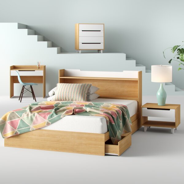 Rancourt Platform 5 Piece Bedroom Set by Hashtag Home