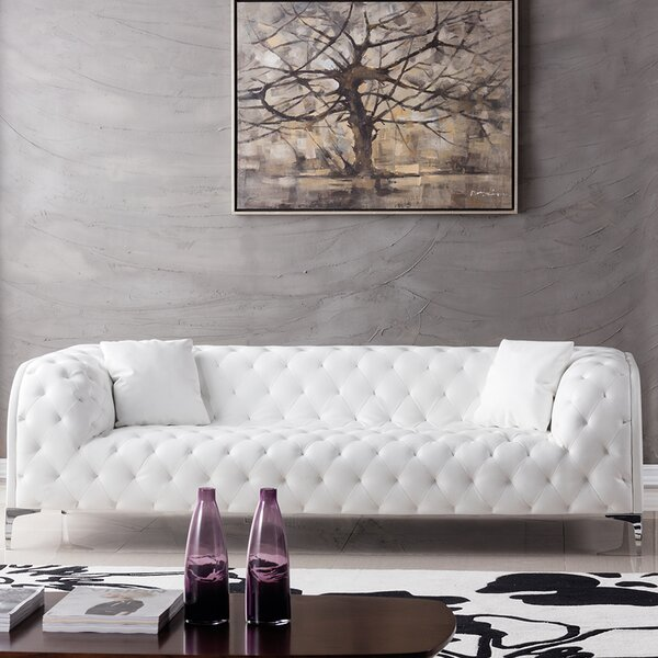 A Wide Selection Of Foulk Chesterfield Sofa by Mercer41 by Mercer41