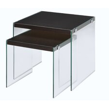Millenial 2 Piece Nesting Tables by Fox Hill Trading