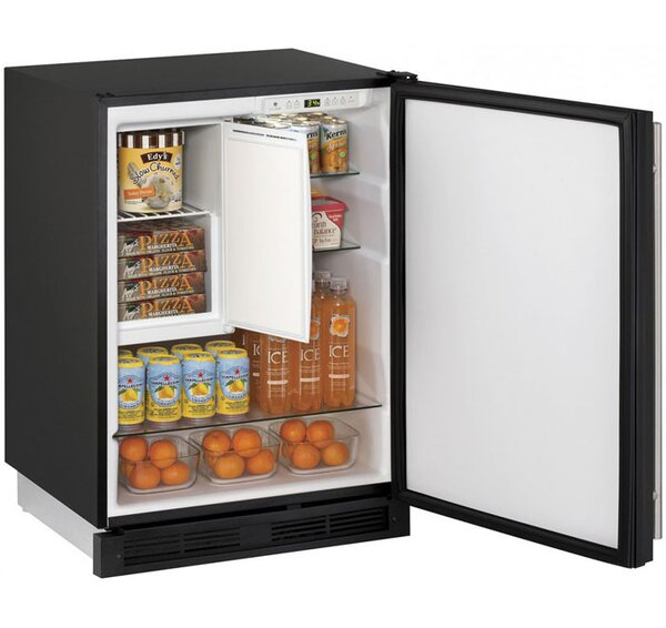1000 Series Reversible 24-inch 4.2 cu. ft. Undercounter Refrigeration with Freezer by U-Line