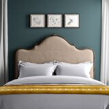 Adrianne Upholstered Panel Headboard by August Grove®