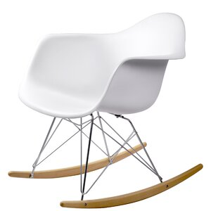 Breana White Rocking Chair (Set of 2)