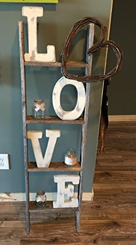 Ladder Bookcase by BarnwoodUSA