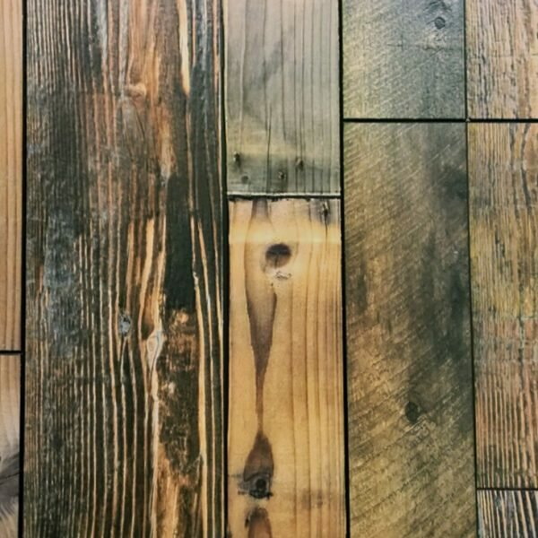 Tatum 7.62 x 47.75 x 12mm Pine Laminate Flooring in Barn Board by Serradon