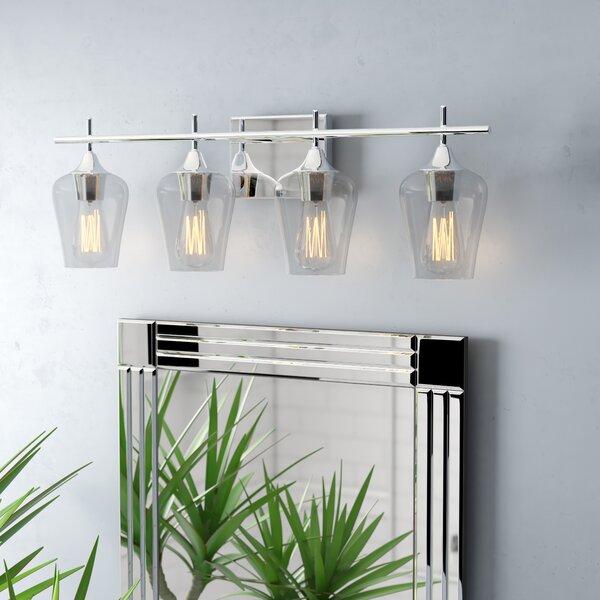 Staci 4-Light Vanity Light by Zipcode Design