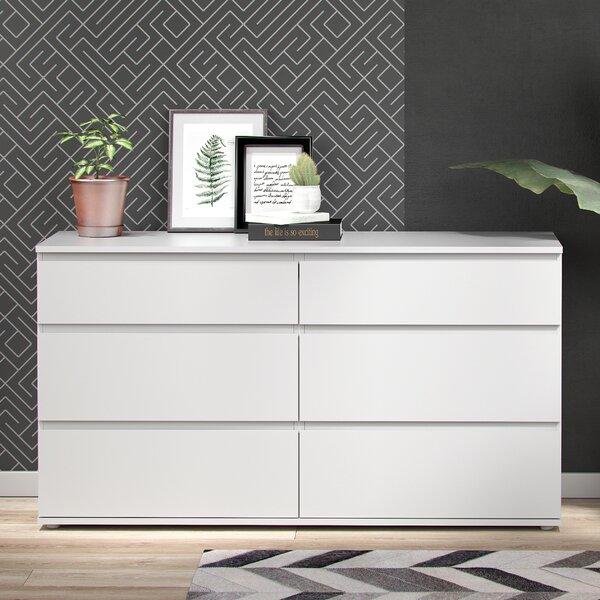 Karev 6 Drawer Double Dresser by Zipcode Design