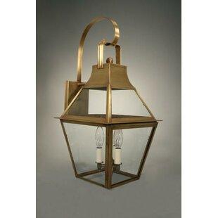 Price comparison Uxbridge 3-Light Outdoor Wall Lantern By Northeast Lantern