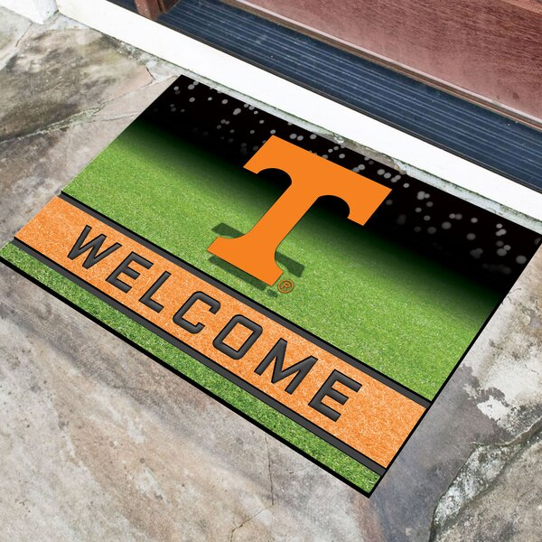 NCAA Rubber Doormat by FANMATS