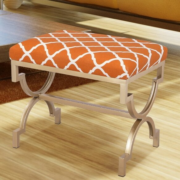 The Nesting Flax Ottoman by Adeco Trading