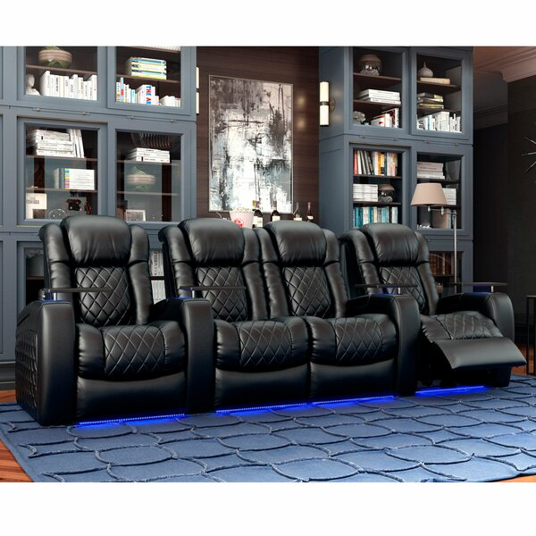 Continental HR Series Home Theater Loveseat (Row Of 4) By Red Barrel Studio