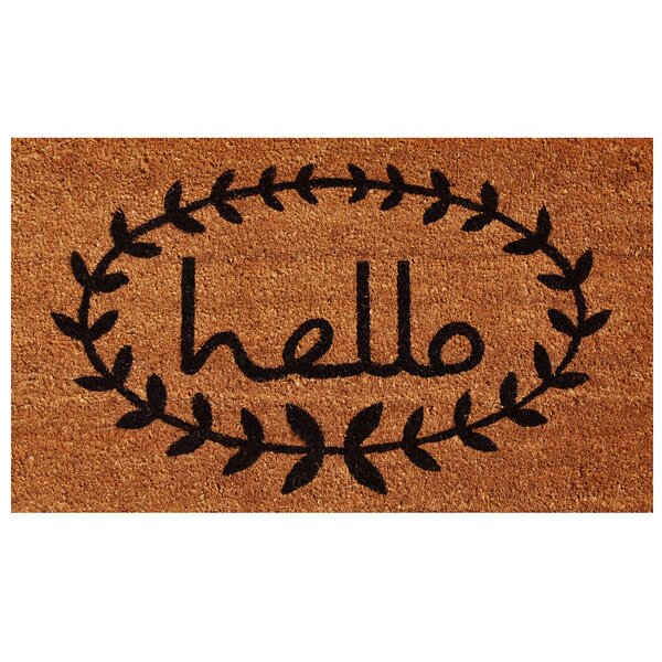Sulema Hello Doormat by Laurel Foundry Modern Farmhouse