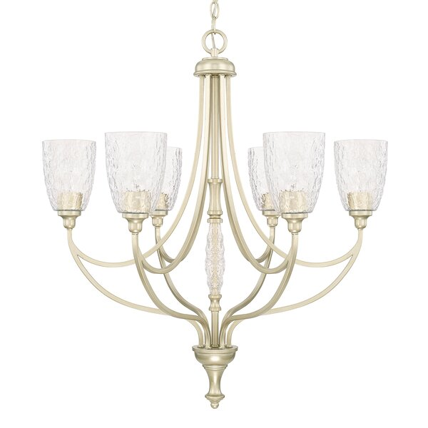 Robin 6-Light Shaded Chandelier by House of Hampton