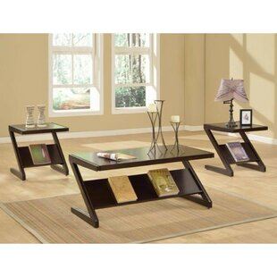 Timberville 3 Piece Coffee Table Set by Latitude Run