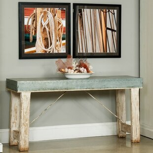 Review Huffman Zinc-Top Console Table By Sarreid Ltd