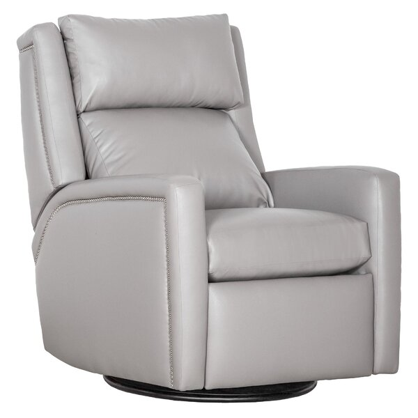 Drake Leather Manual Recliner By Fairfield Chair