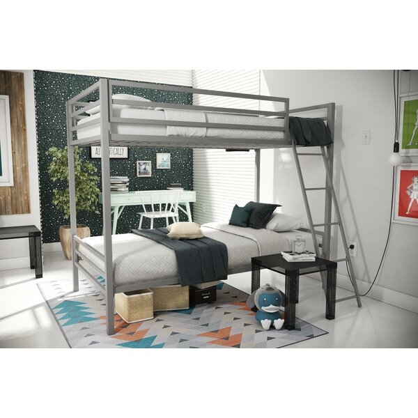 Maxwell Twin Over Twin Bunk Bed By Novogratz by Novogratz Savings