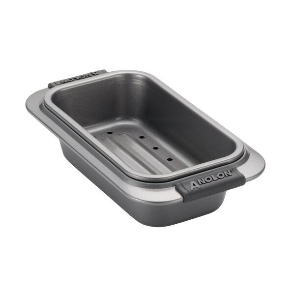 2 Piece Non Stick Loaf Pan Set By Anolon.