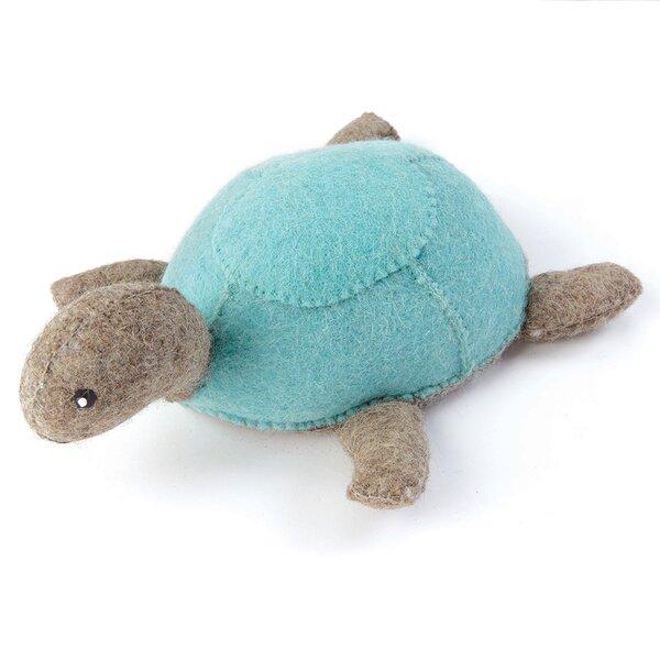 Wool Turtle Wall Stop by Hip Vintage
