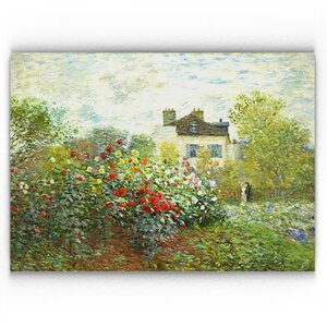 'The Artist Garden' Graphic Art Print on Canvas by August Grove