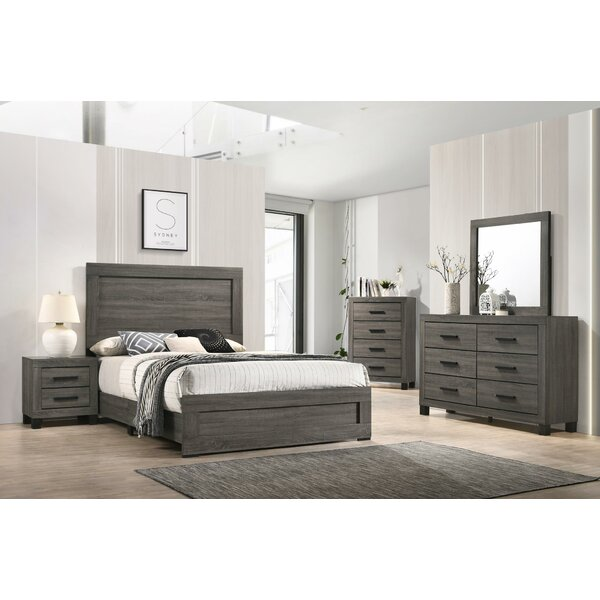 Myrtlewood Standard 5 Piece Bedroom Set by Union Rustic
