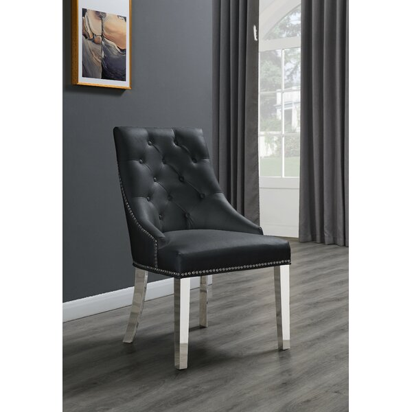 Maney Tufted Upholstered Side Chair By House Of Hampton®