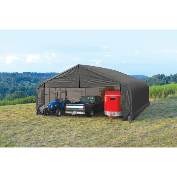 Peak Standard 28 Ft. X 20 Ft. Garage By Shelterlogic.