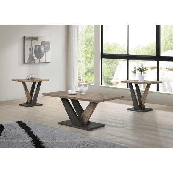 Uriarte 3 Piece Coffee Table Set by Gracie Oaks