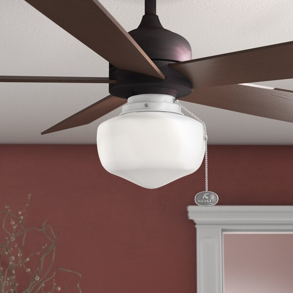 1-Light Schoolhouse Ceiling Fan Light Kit by Laurel Foundry Modern Farmhouse