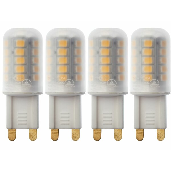 3W G9 LED Capsule Light Bulb (Set of 4) by Newhouse Lighting