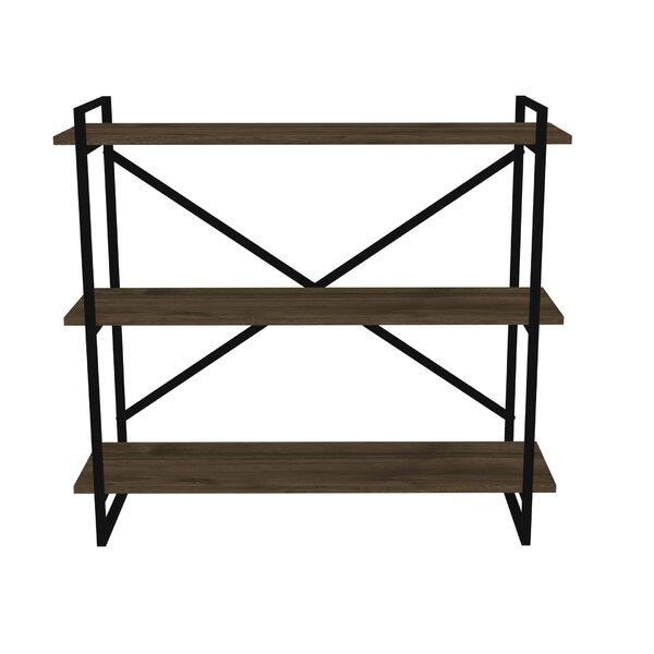 Stratton Metal Framed 3-Shelf Etagere Bookcase by Gracie Oaks