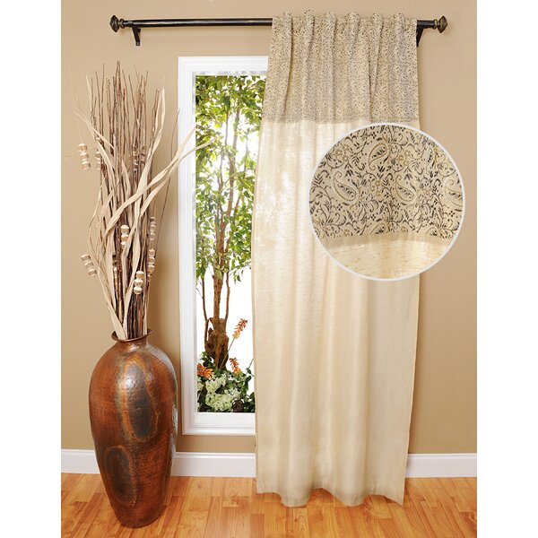 Single Curtain Panel by India House