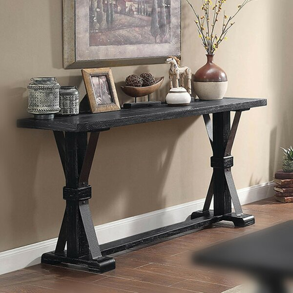 Mcquillen 64 Solid Wood Console Table W002497122