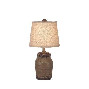 Best Choices Hagler Honey Jar 18 Table Lamp By August Grove