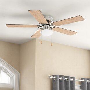 42 Bagtas 5 Blade LED Ceiling Fan By Winston Porter