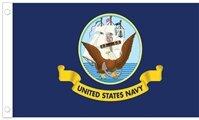 U.S. Navy Nylon 3 x 5 ft. Flag Set by U.S. Flag Store