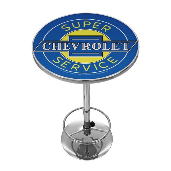 Chevy Super Service Pub Table by Trademark Global