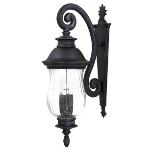 Comparison Newport 4-Light Outdoor Wall Lantern By Great Outdoors by Minka