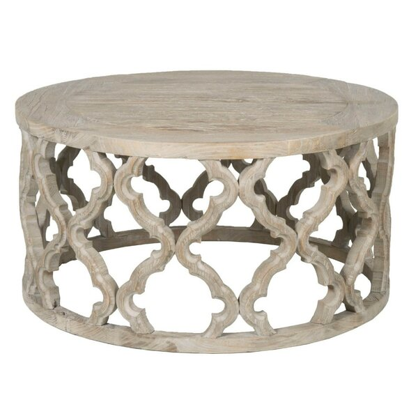 Review Knisely Wooden Coffee Table